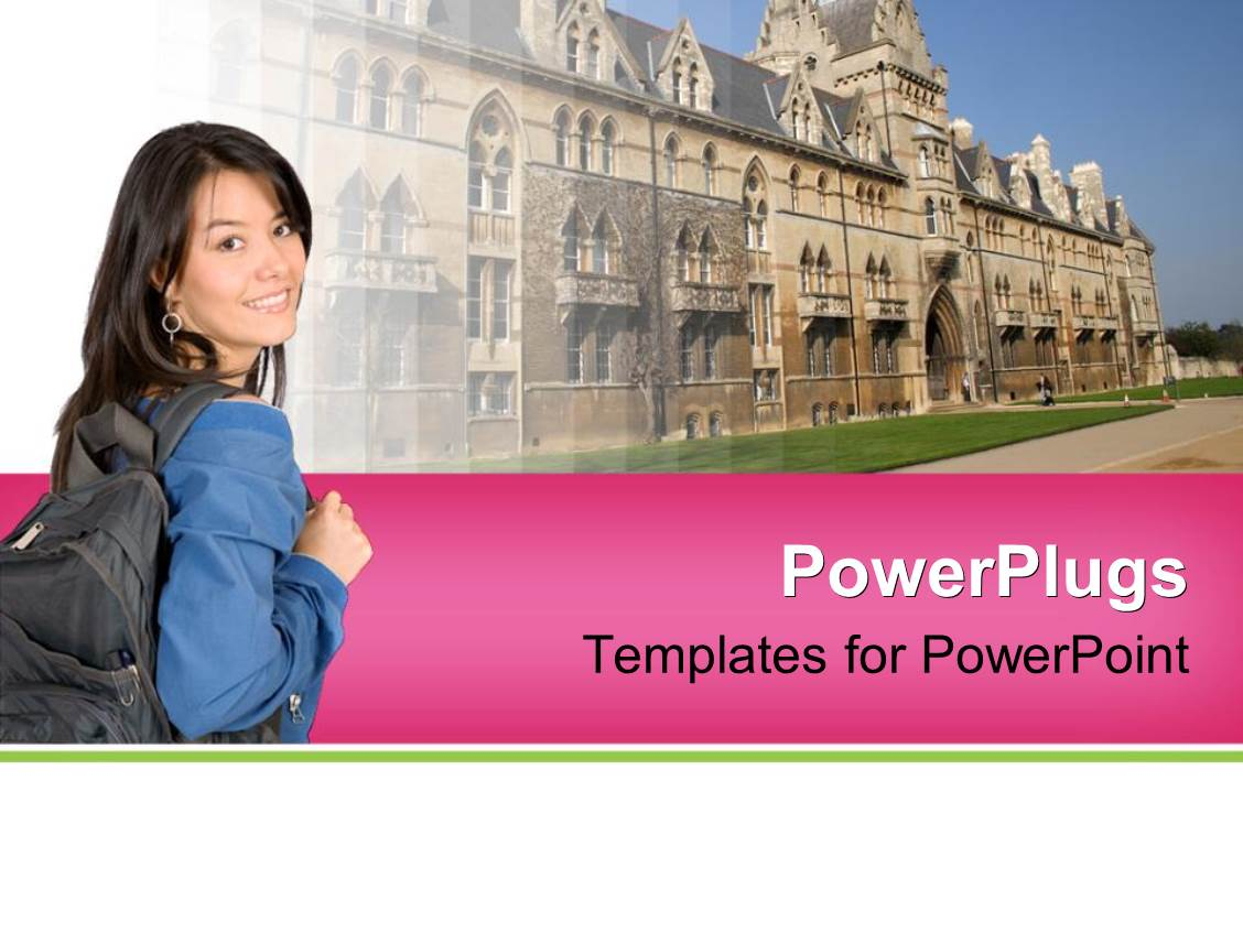 University powerpoint templates crystalgraphics beautiful slide deck enhanced with higher education concept with college template size toneelgroepblik Choice Image