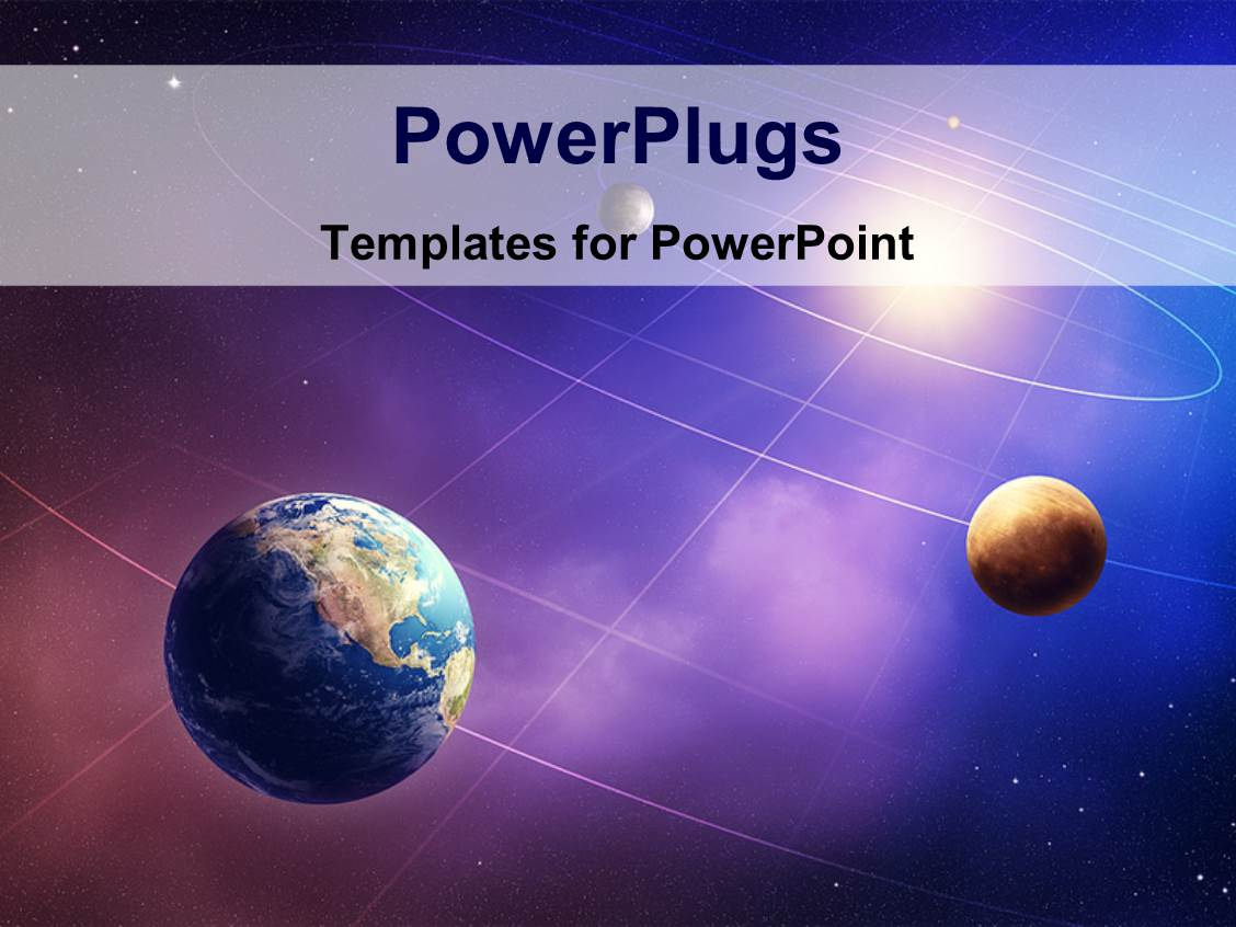 powerpoint template inner four solar system planets furnished by nasa 26748. Black Bedroom Furniture Sets. Home Design Ideas