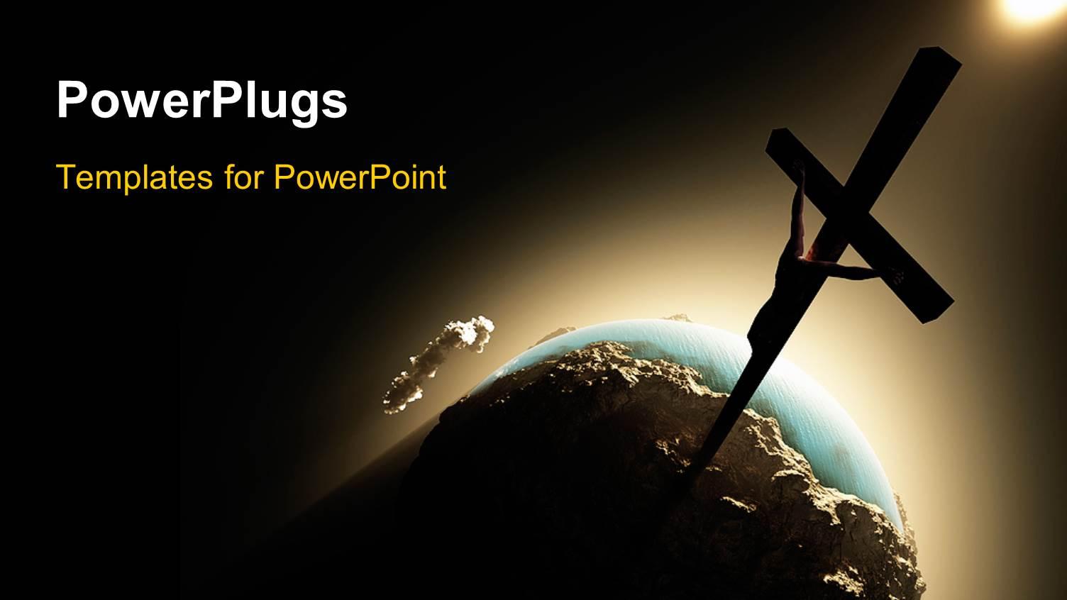 Jesus ChristReligion PowerPoint Templates