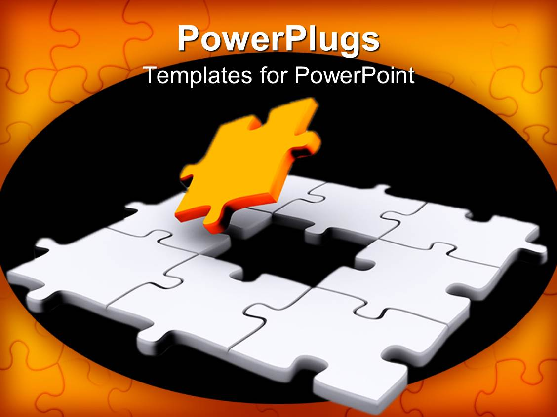 Powerpoint template a jigsaw puzzle missing a piece 18431 powerpoint template displaying a jigsaw puzzle missing a piece toneelgroepblik Gallery