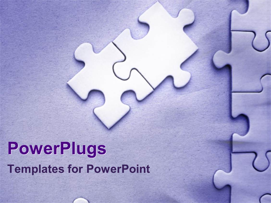 Powerpoint template jigsaw puzzle pieces forming puzzle on simple powerpoint template displaying jigsaw puzzle pieces forming puzzle on simple lilac purple background toneelgroepblik Choice Image