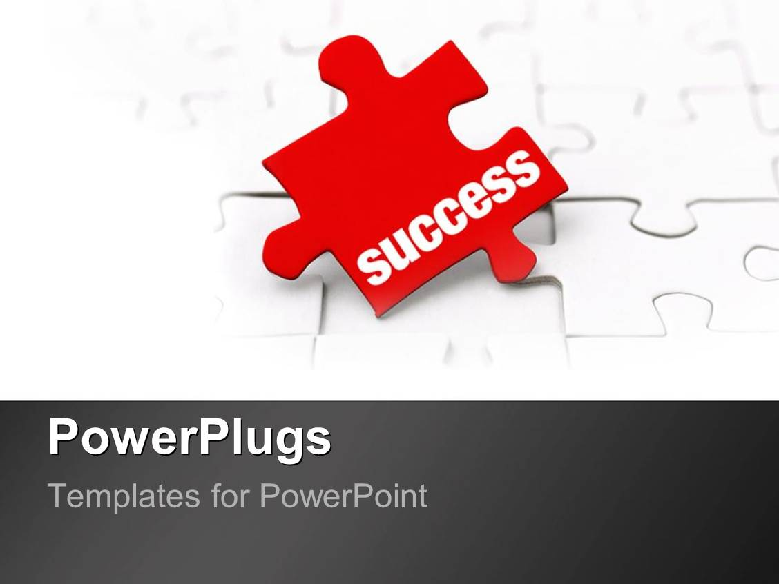Powerpoint template the key to success as a metaphor missing red powerpoint template displaying the key to success as a metaphor missing red puzzle piece on a toneelgroepblik Choice Image
