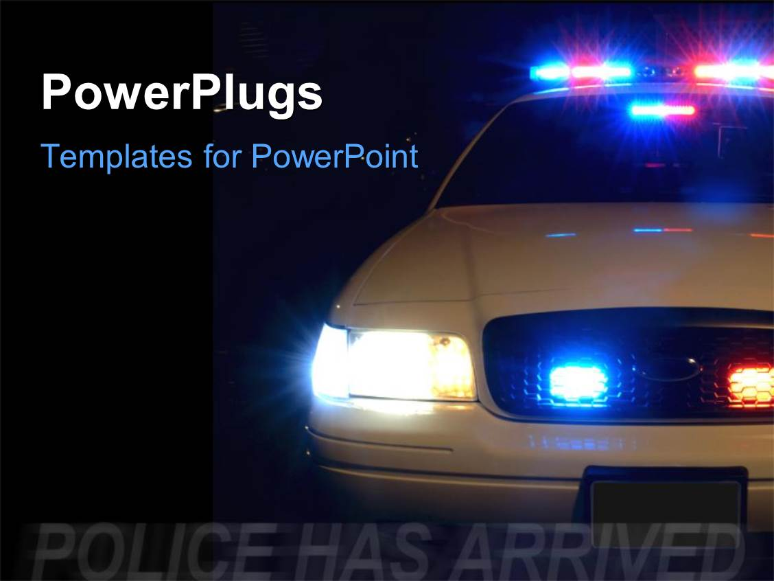 police powerpoint templates | crystalgraphics, Modern powerpoint