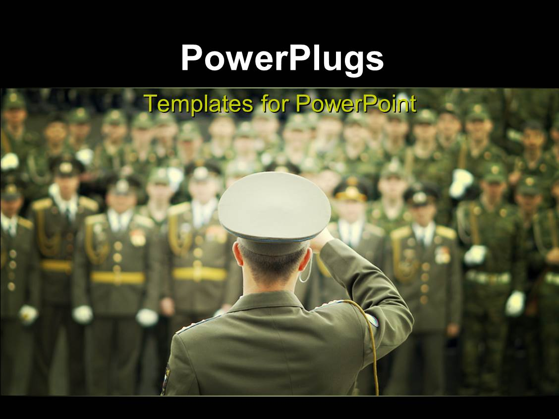 military powerpoint templates | crystalgraphics, Modern powerpoint