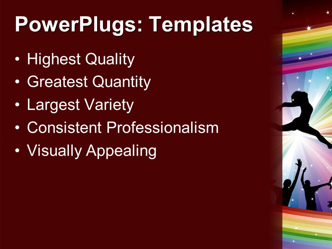 Powerpoint template lots of people in a happy party club for Key club powerpoint template