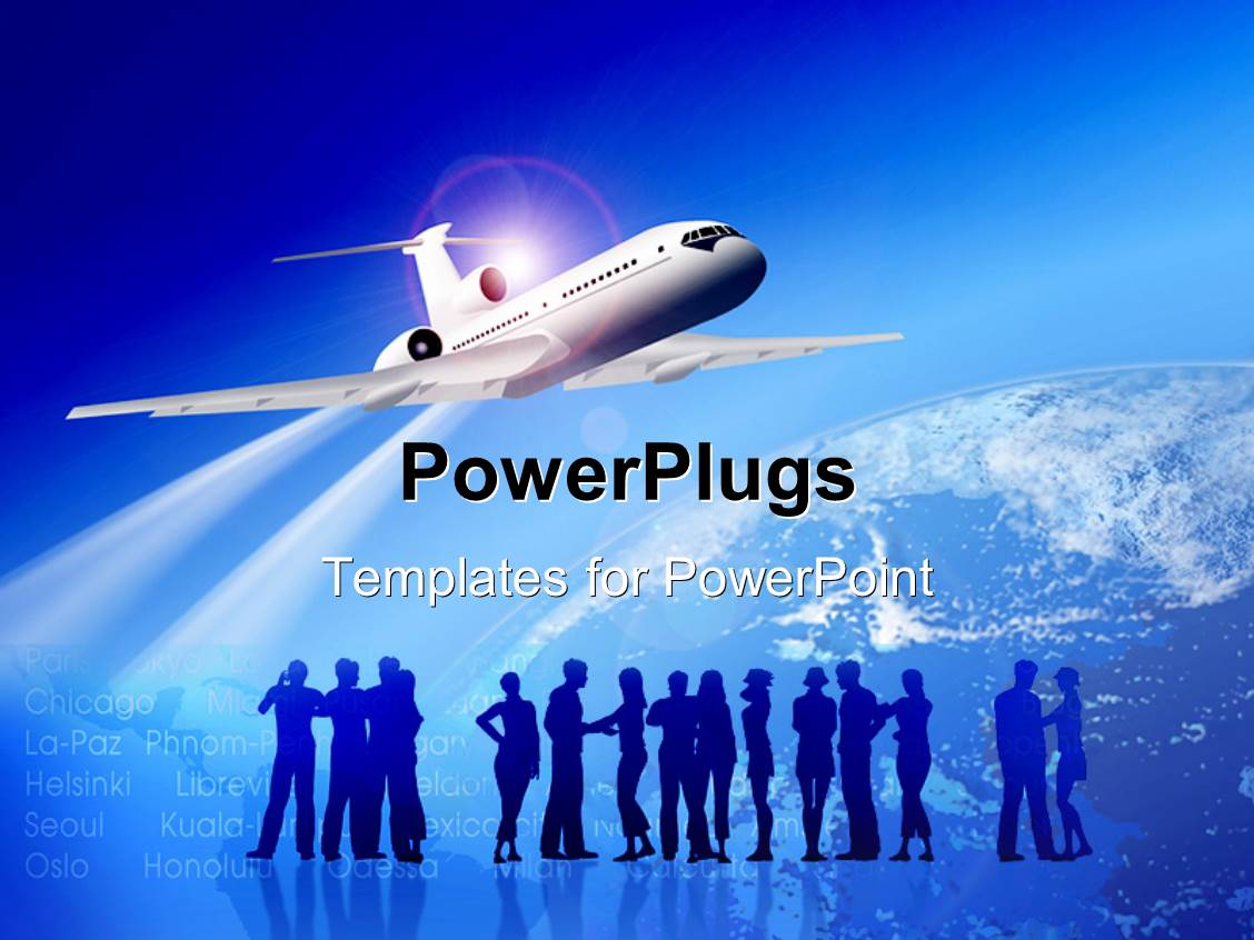 Beautiful airplane ppt template picture collection resume free planes powerpoint template free powerpoint templates oukasfo toneelgroepblik Choice Image