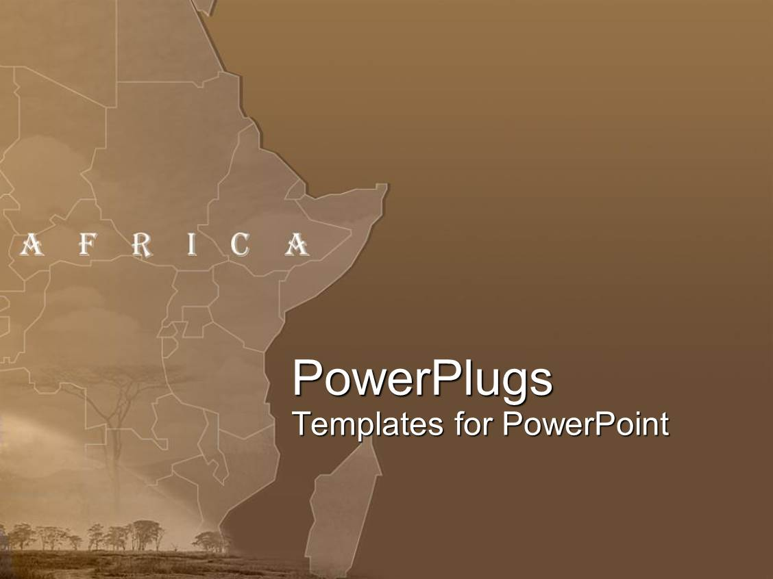 africa powerpoint templates | crystalgraphics, Modern powerpoint