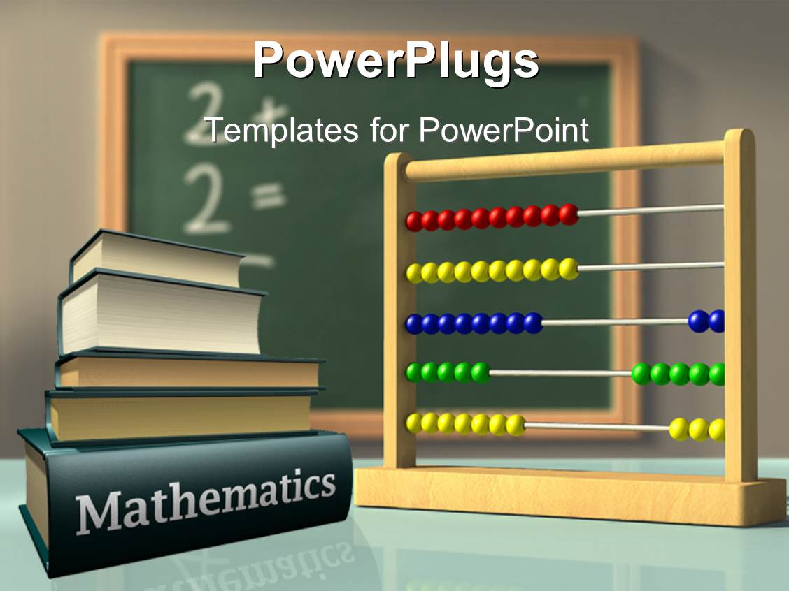 mathematics powerpoint templates | crystalgraphics, Powerpoint templates