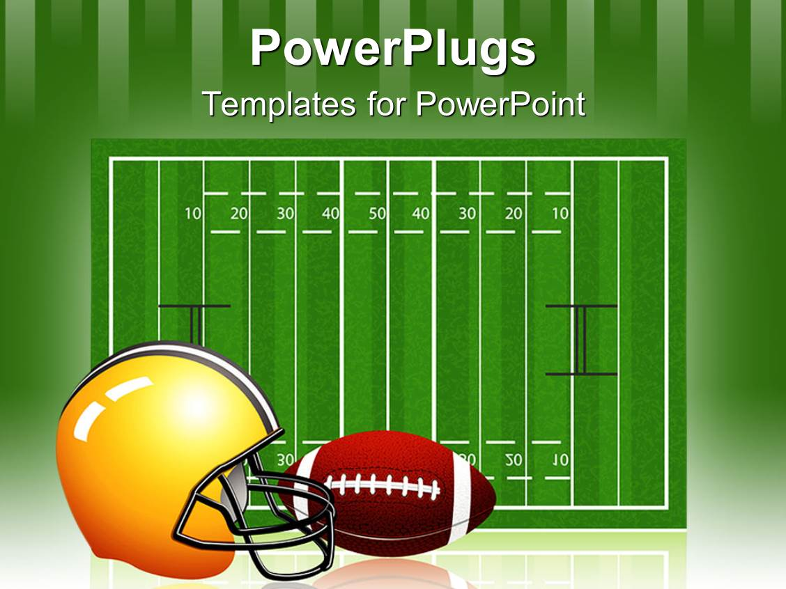 powerpoint template the measurement of the rugby field