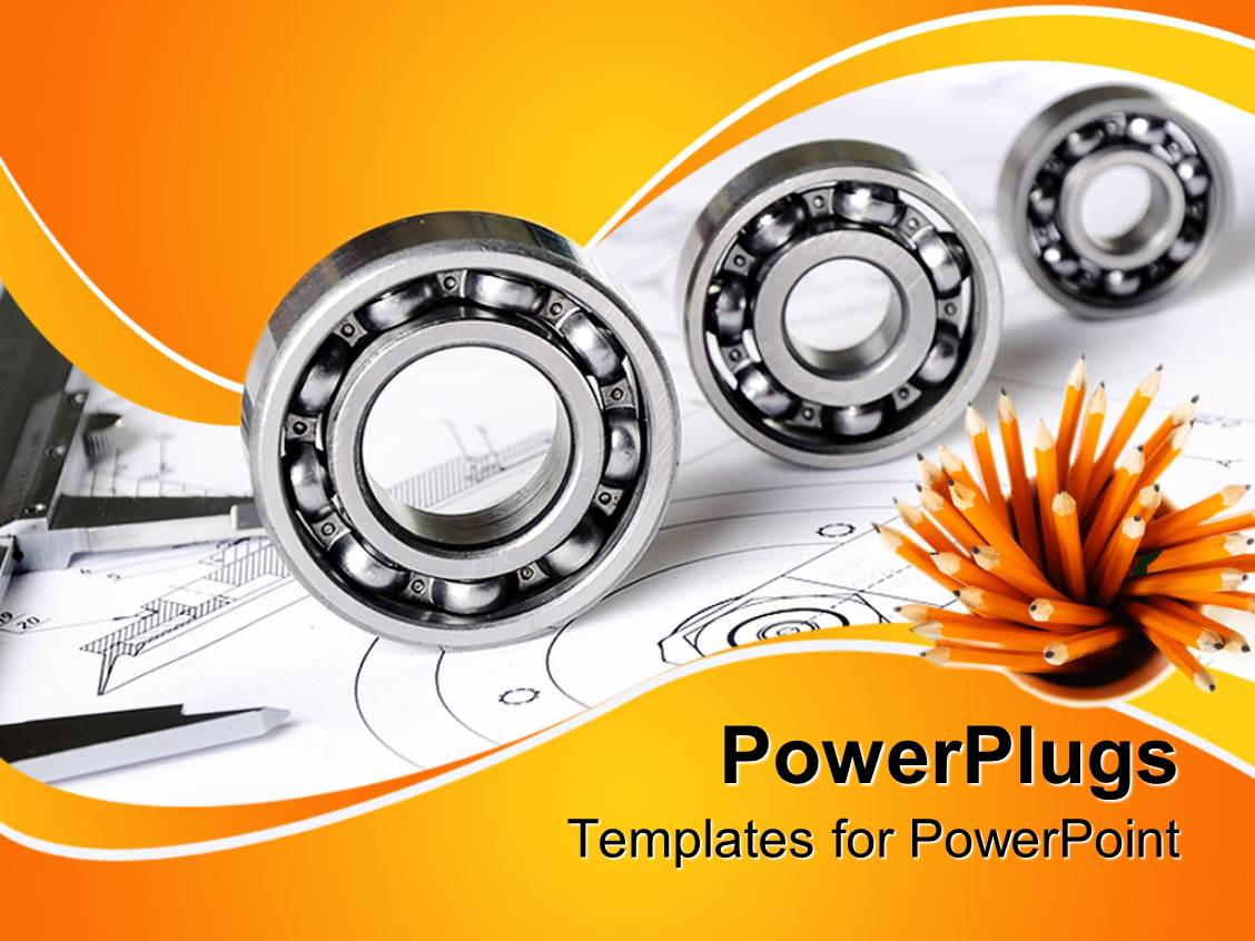 mechanical engineering powerpoint templates | crystalgraphics, Powerpoint templates