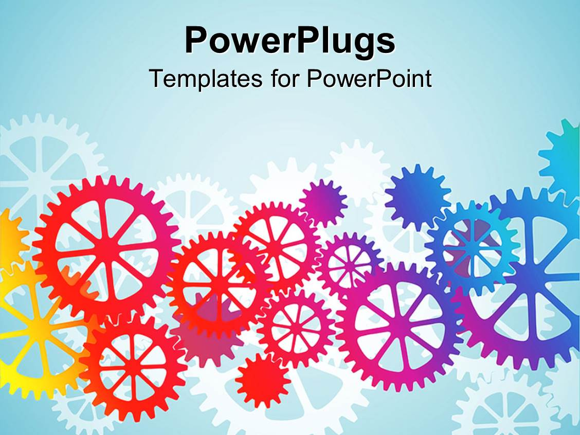 blue and orange powerpoint template images - templates example, Modern powerpoint