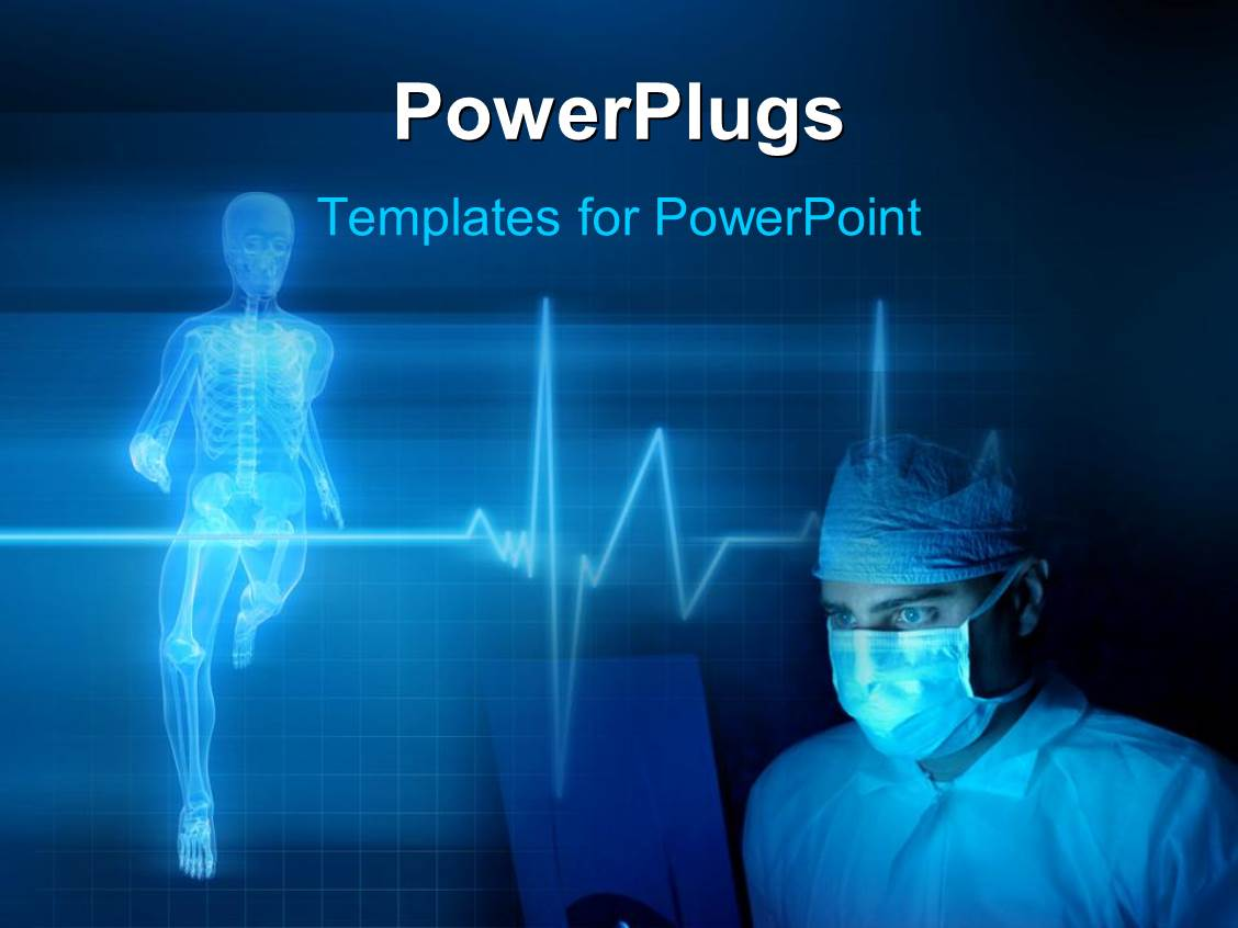 Heart Rate PowerPoint Templates – Heart Rate Chart Template