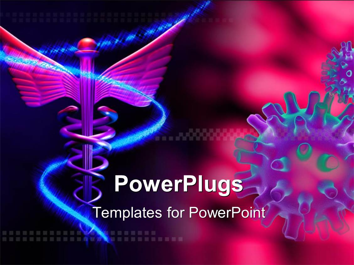 Virus Powerpoint Template Quantumgaming