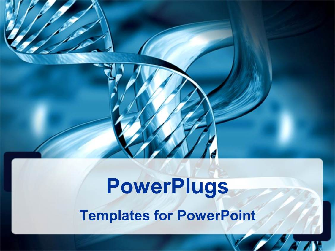 powerpoint template medical theme representing silvery