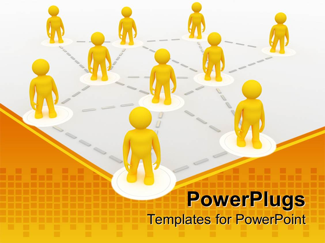 Networking Powerpoint Templates