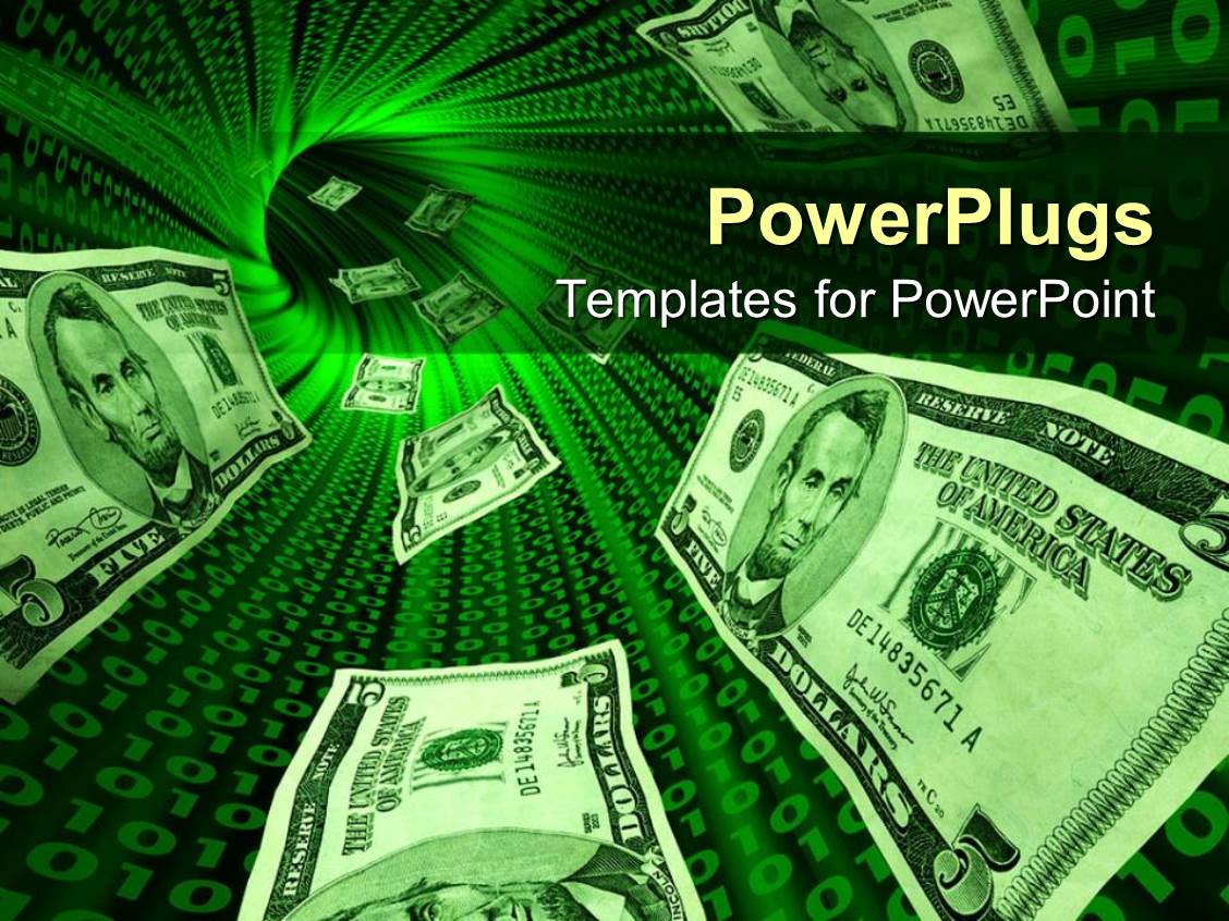money powerpoint templates | crystalgraphics, Modern powerpoint