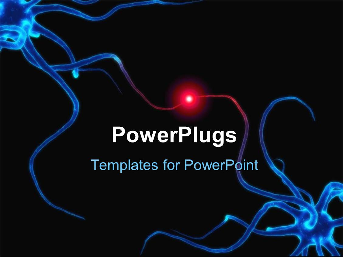 nerve cell powerpoint templates | crystalgraphics, Modern powerpoint