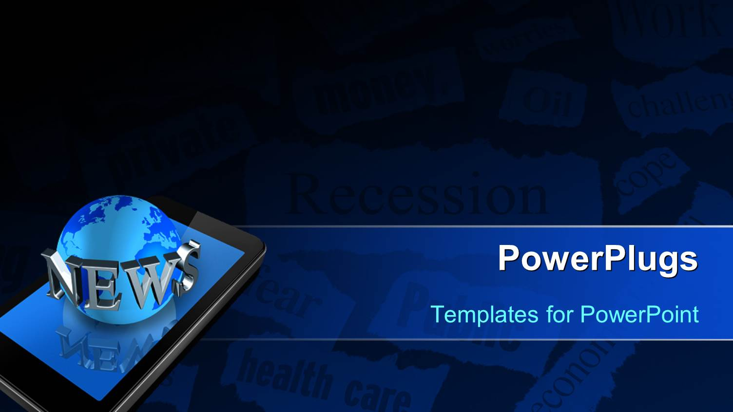 news powerpoint template image collections - templates example, Modern powerpoint