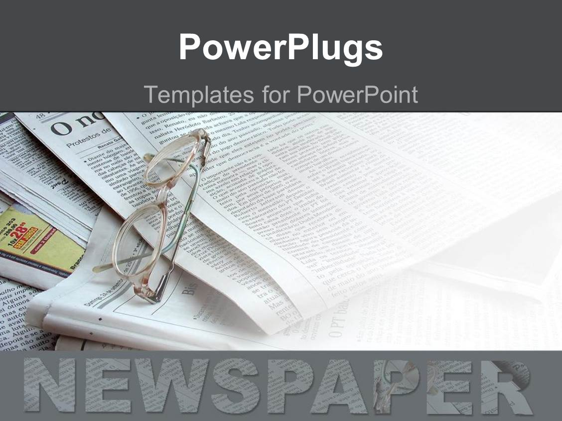 Best Newspaper PowerPoint Templates | CrystalGraphics