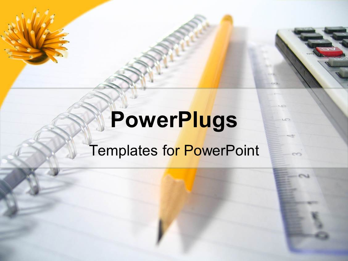 powerpoint templates writing images powerpoint template