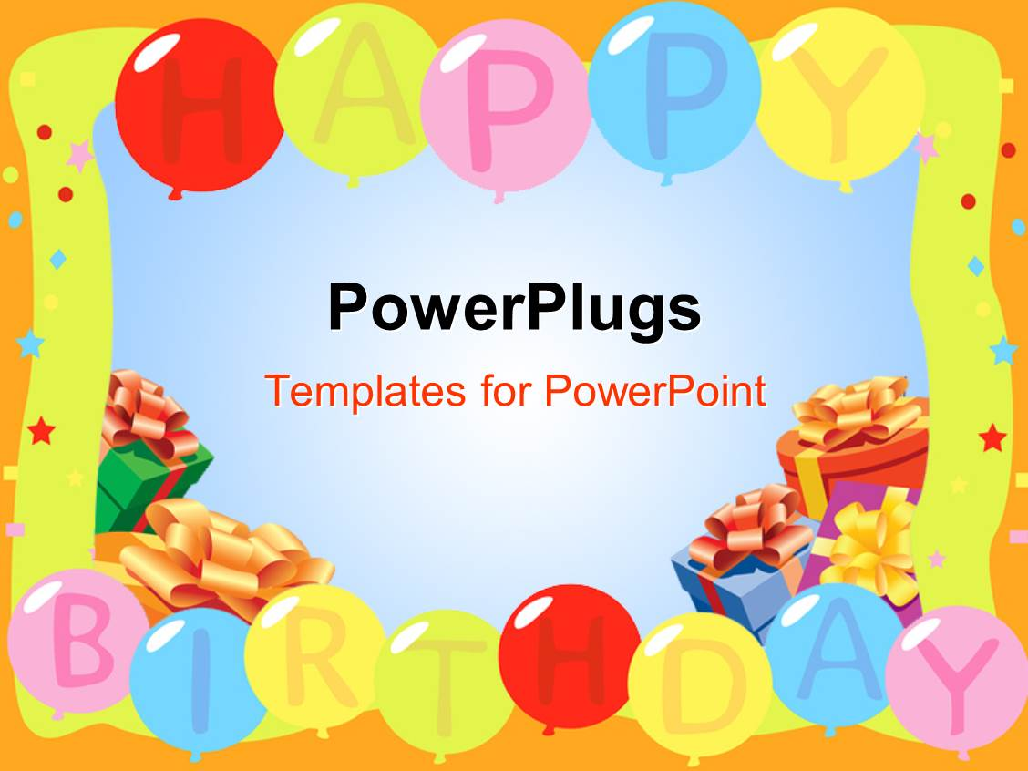 birthday powerpoint templates | crystalgraphics, Powerpoint templates