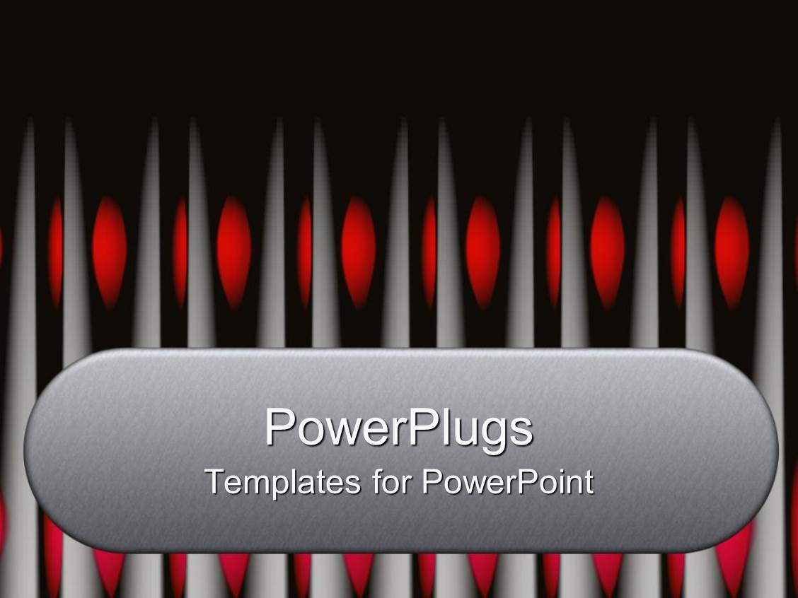 PowerPoint Template: a number of frames with red color ...