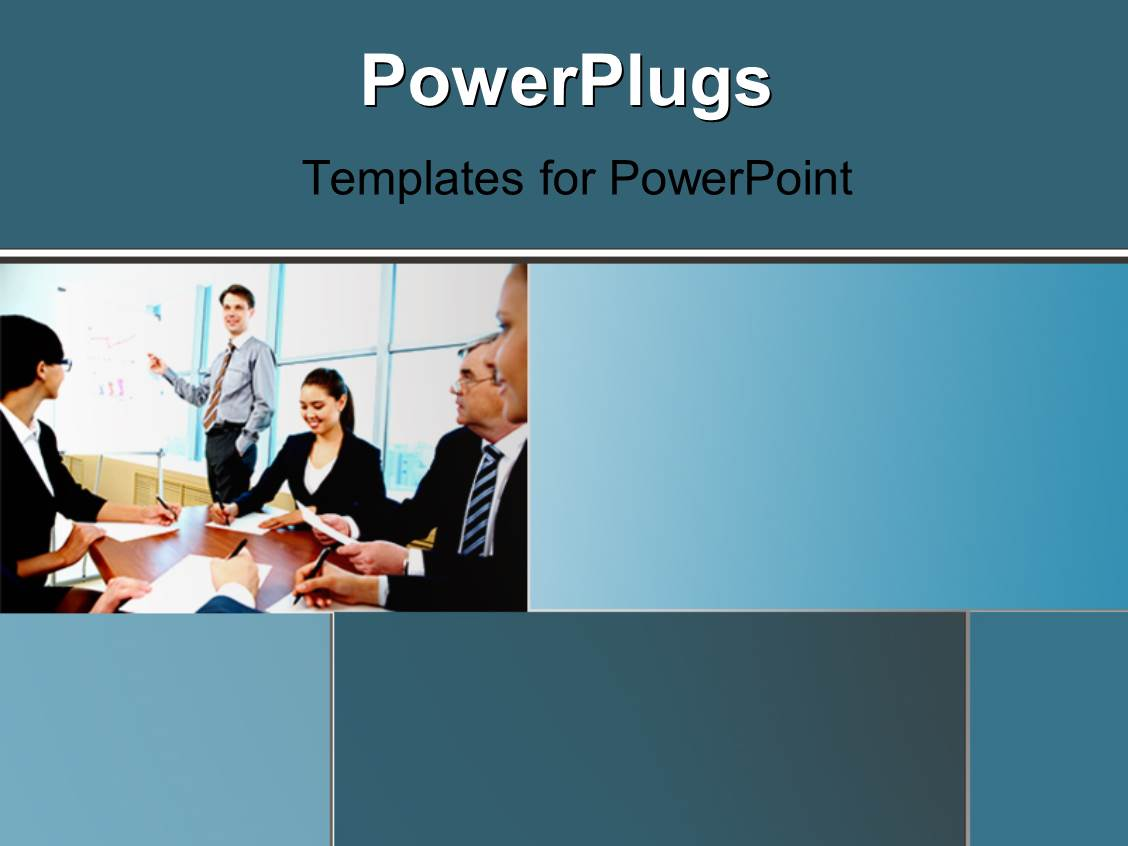 Powerpoint template a number of people in the office with windows powerpoint template displaying a number of people in the office with windows in background toneelgroepblik Image collections