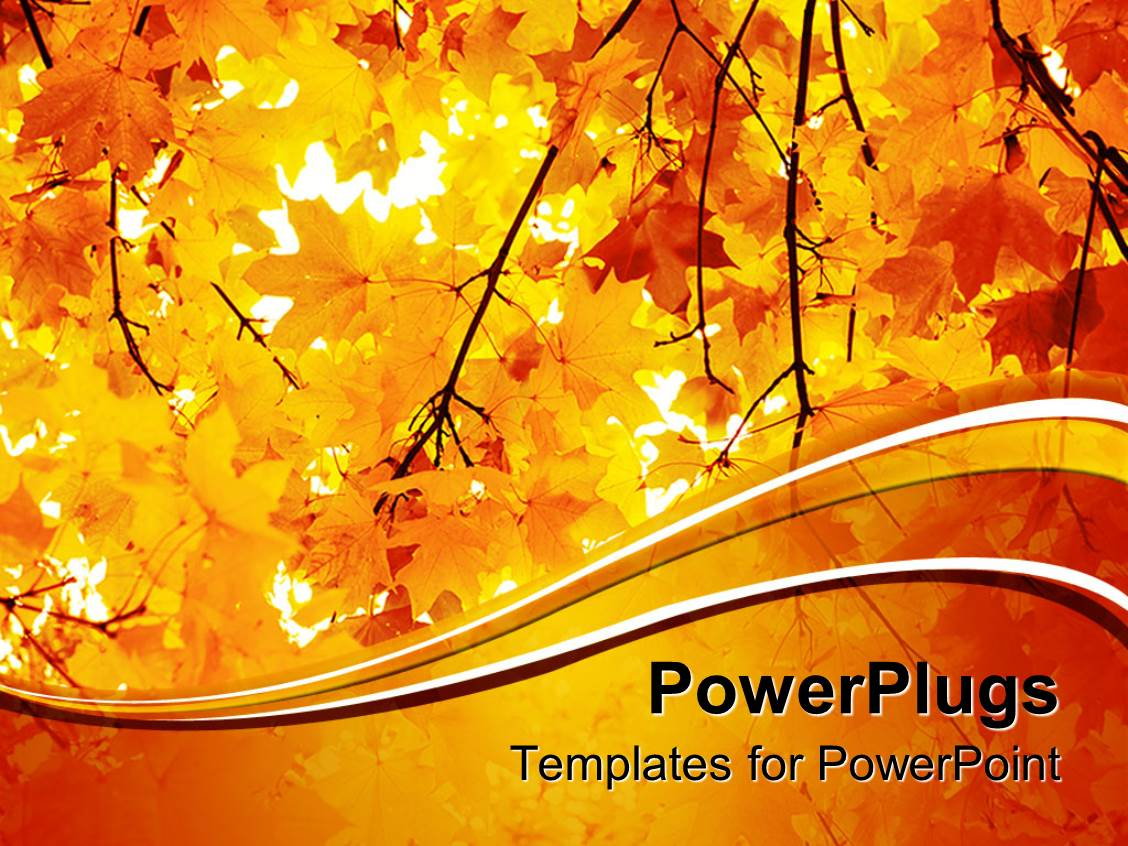 Fall powerpoint templates free images templates example free fall powerpoint templates free gallery templates example free powerpoint template a number of yellow leaves during toneelgroepblik Gallery