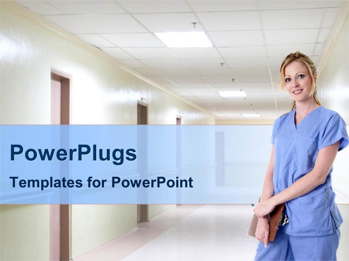 nurse powerpoint template image collections - templates example, Powerpoint templates