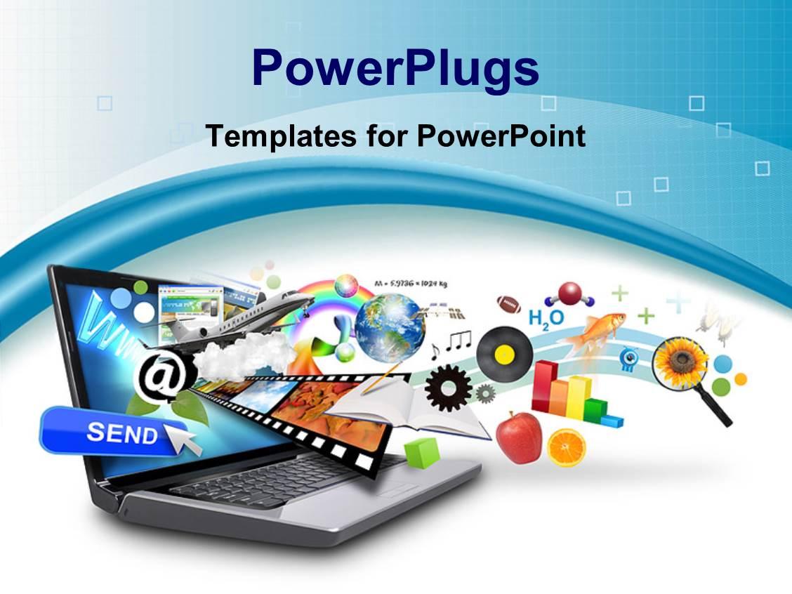internet powerpoint templates | crystalgraphics, Modern powerpoint
