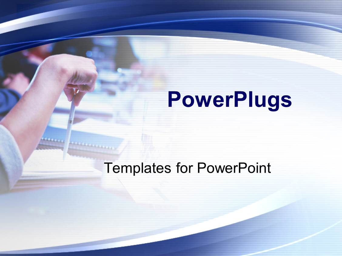 Powerpoint template office meeting theme with hands notebooks powerpoint template displaying office meeting theme with hands notebooks and pens education college toneelgroepblik Image collections