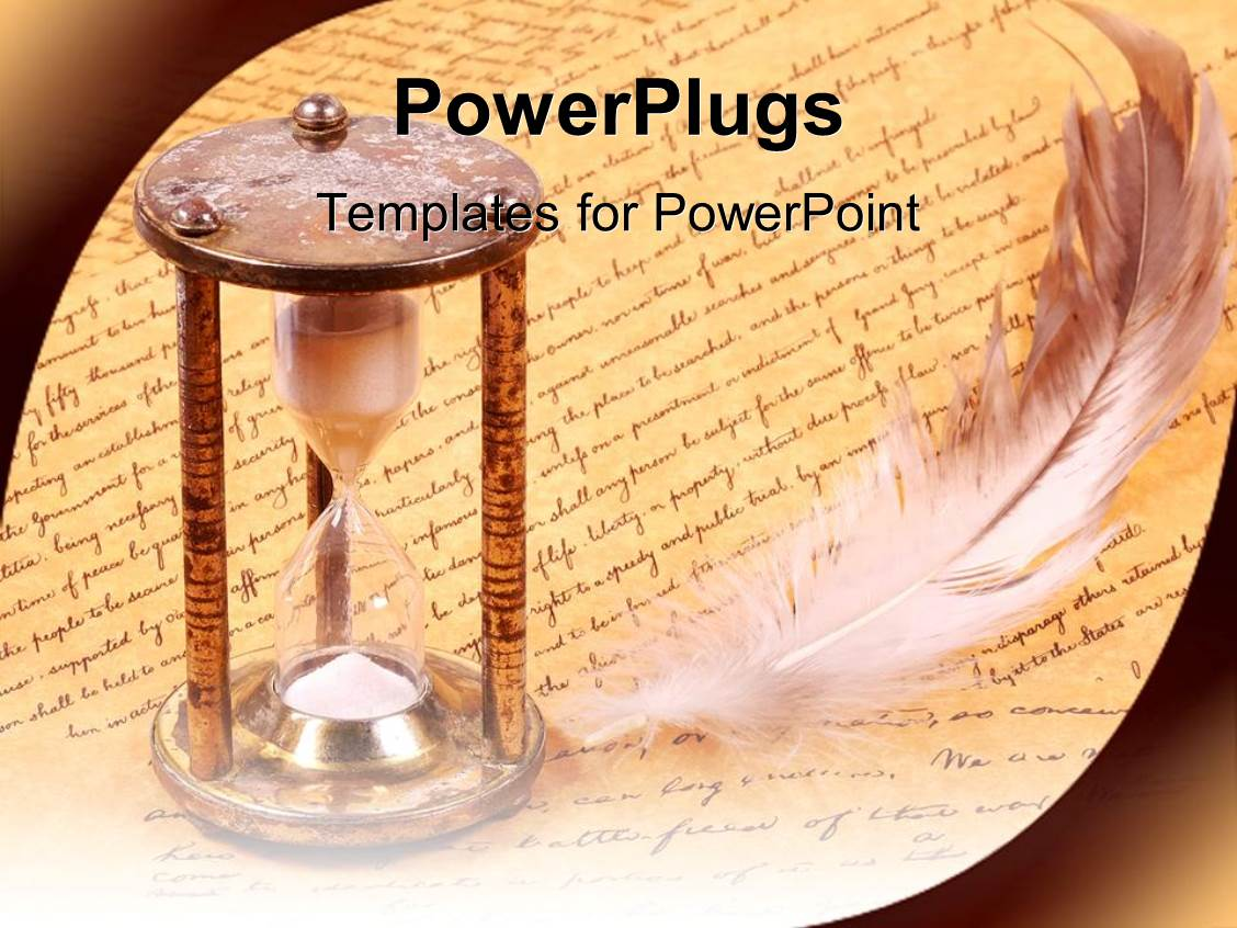 powerpoint template old fashioned photo album images - powerpoint, Modern powerpoint