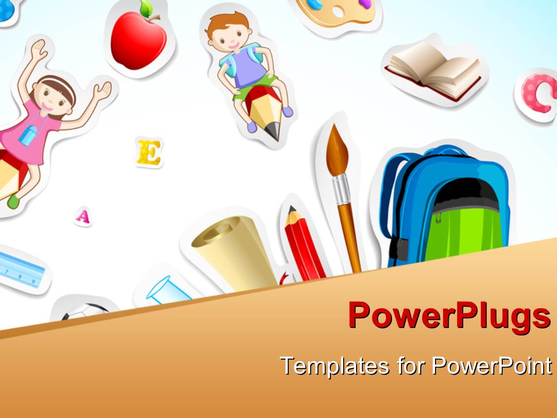 Powerpoint Template For Kids