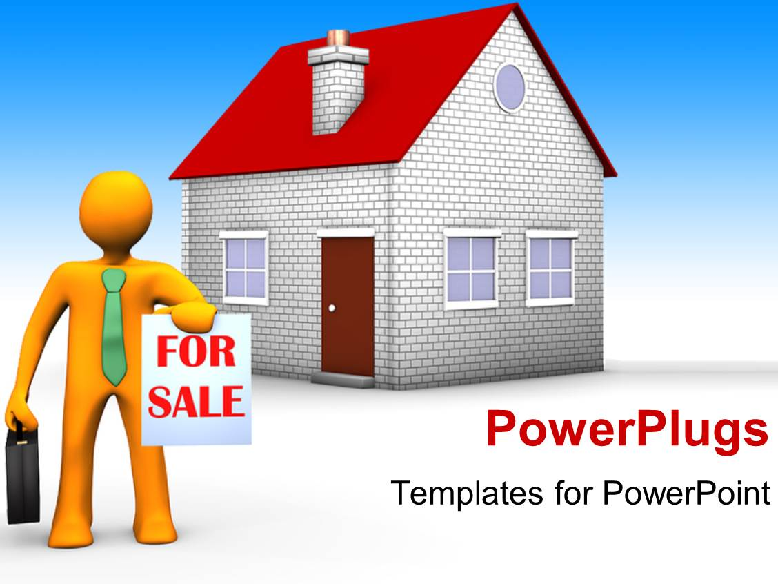 powerpoint template a person the house for and bluish ppt template he words get help here symbolizing the need to offer support and answers