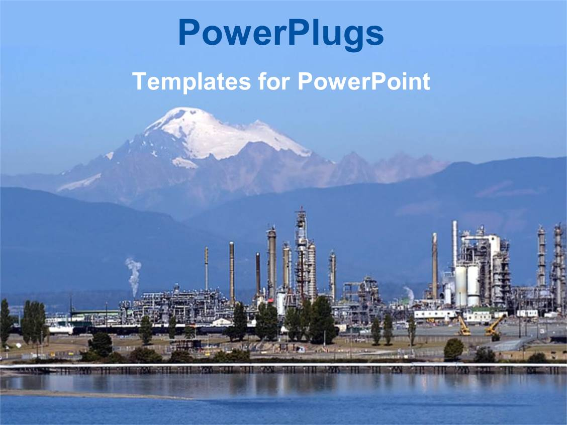 petrochemical powerpoint templates | crystalgraphics, Modern powerpoint