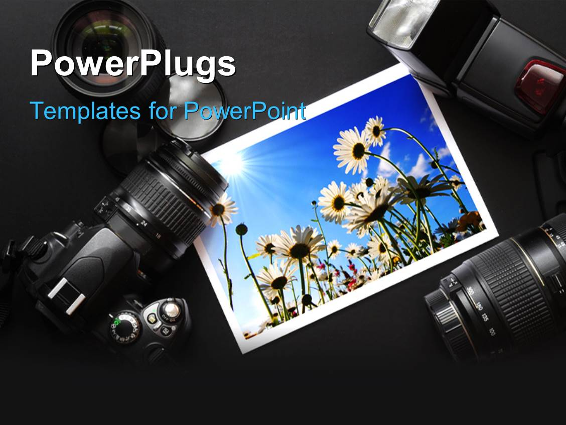 camera powerpoint templates | crystalgraphics, Presentation templates