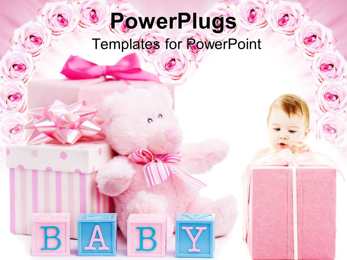 baby shower powerpoint template - gse.bookbinder.co, Modern powerpoint