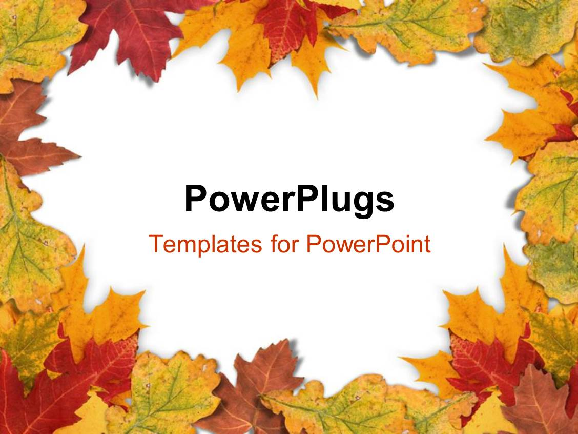 Fall leaves powerpoint template fall powerpoint template best photos of microsoft word background toneelgroepblik Choice Image