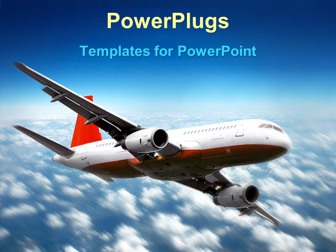 Plane powerpoint templates idealstalist plane powerpoint templates toneelgroepblik Image collections