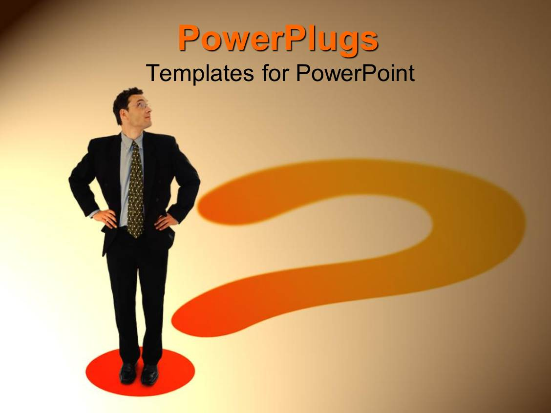 Powerpoint template a professional looking towards top for Professional looking powerpoint templates