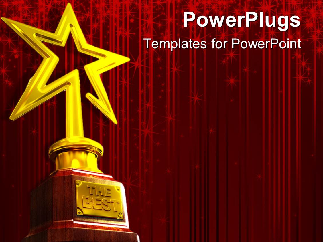 star award powerpoint templates | crystalgraphics, Modern powerpoint