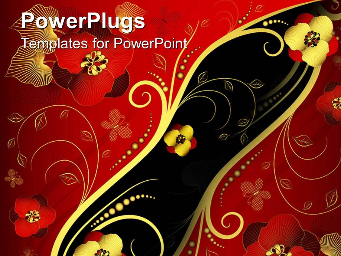 oriental powerpoint template