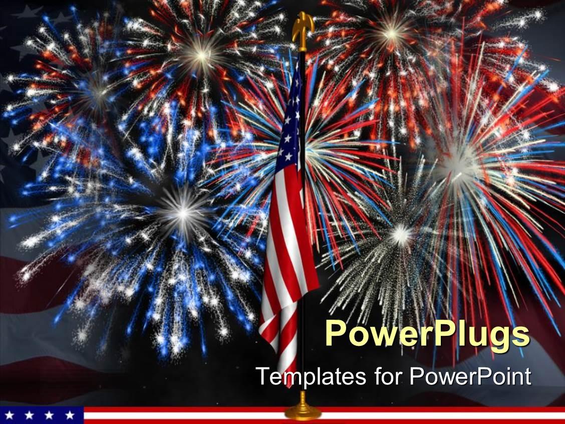 Fireworks animation in powerpoint powerpoint template multicolored powerpoint template red white and blue fireworks behind fireworks animation in powerpoint toneelgroepblik Image collections