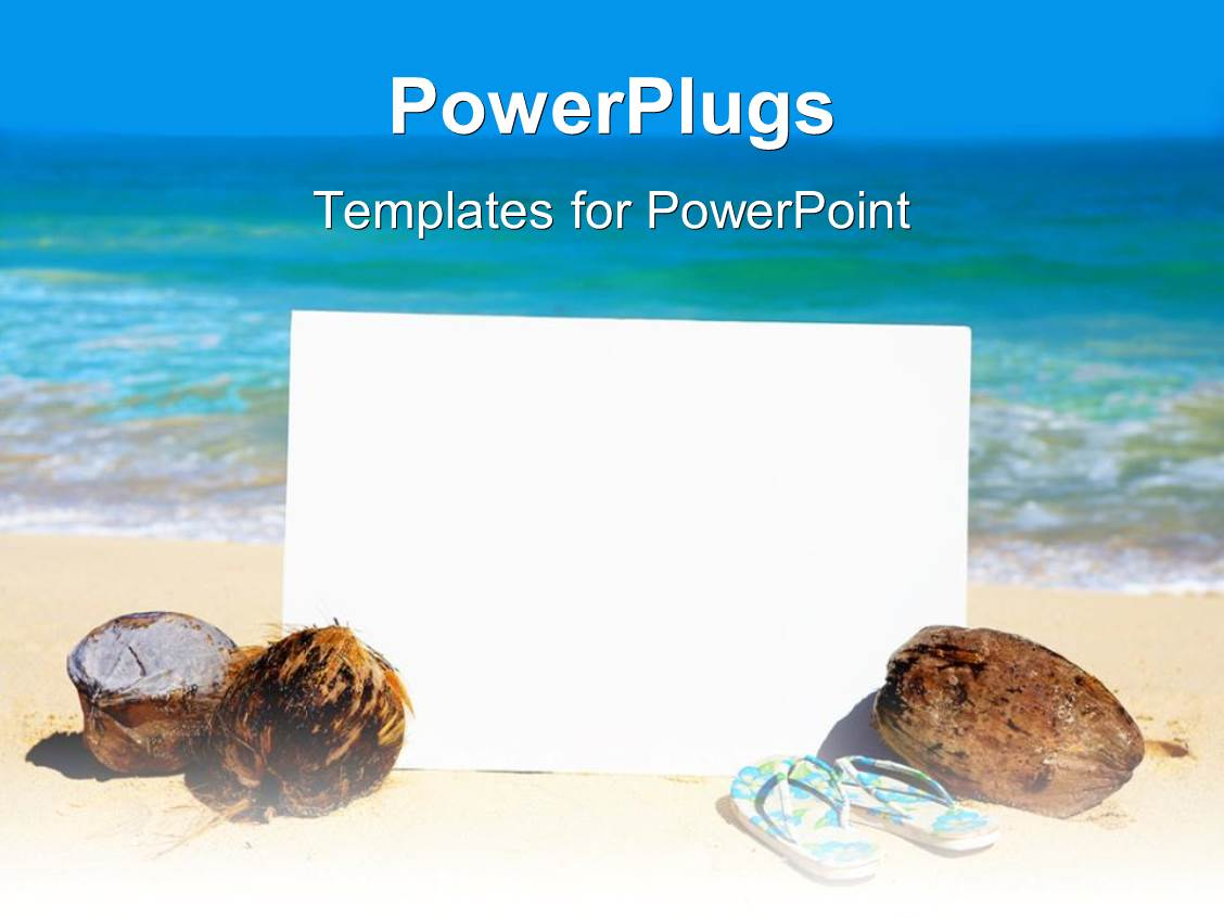 hawaii powerpoint templates | crystalgraphics, Modern powerpoint