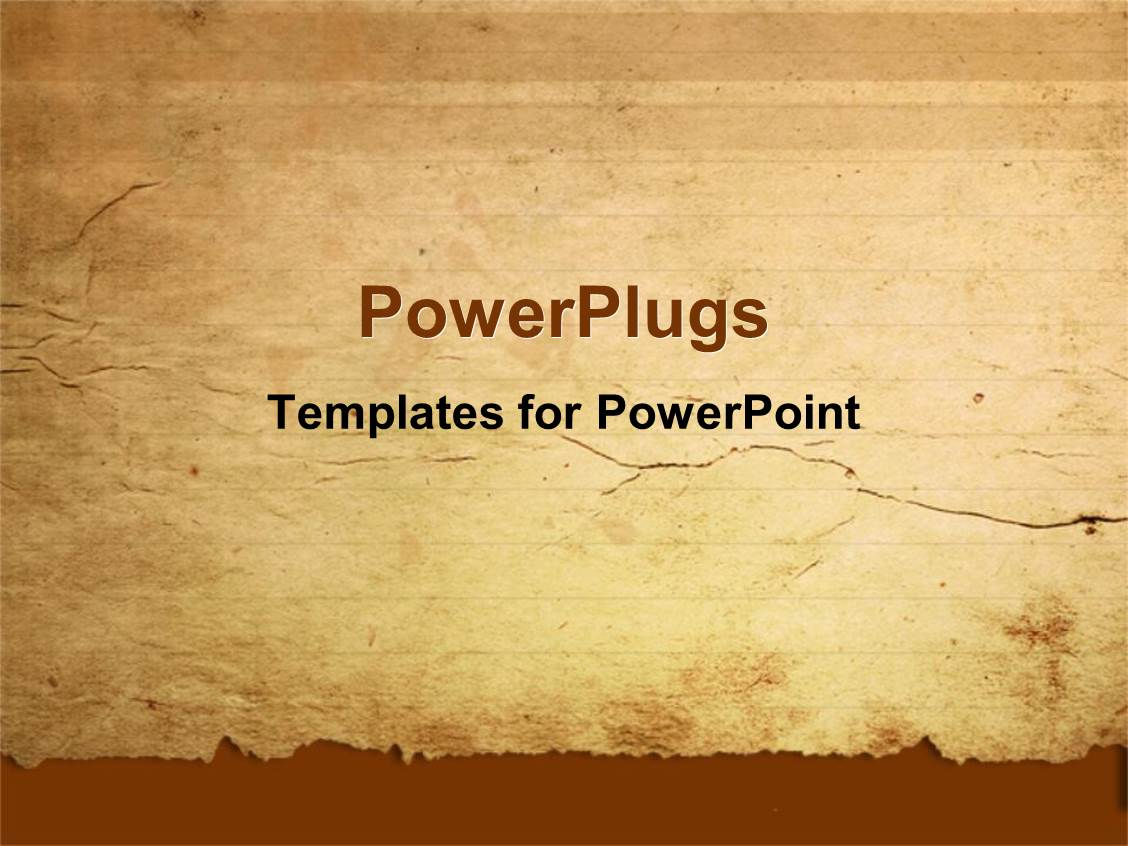 Old Paper PowerPoint Templates | CrystalGraphics