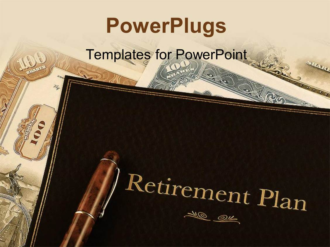 retirement ppt template