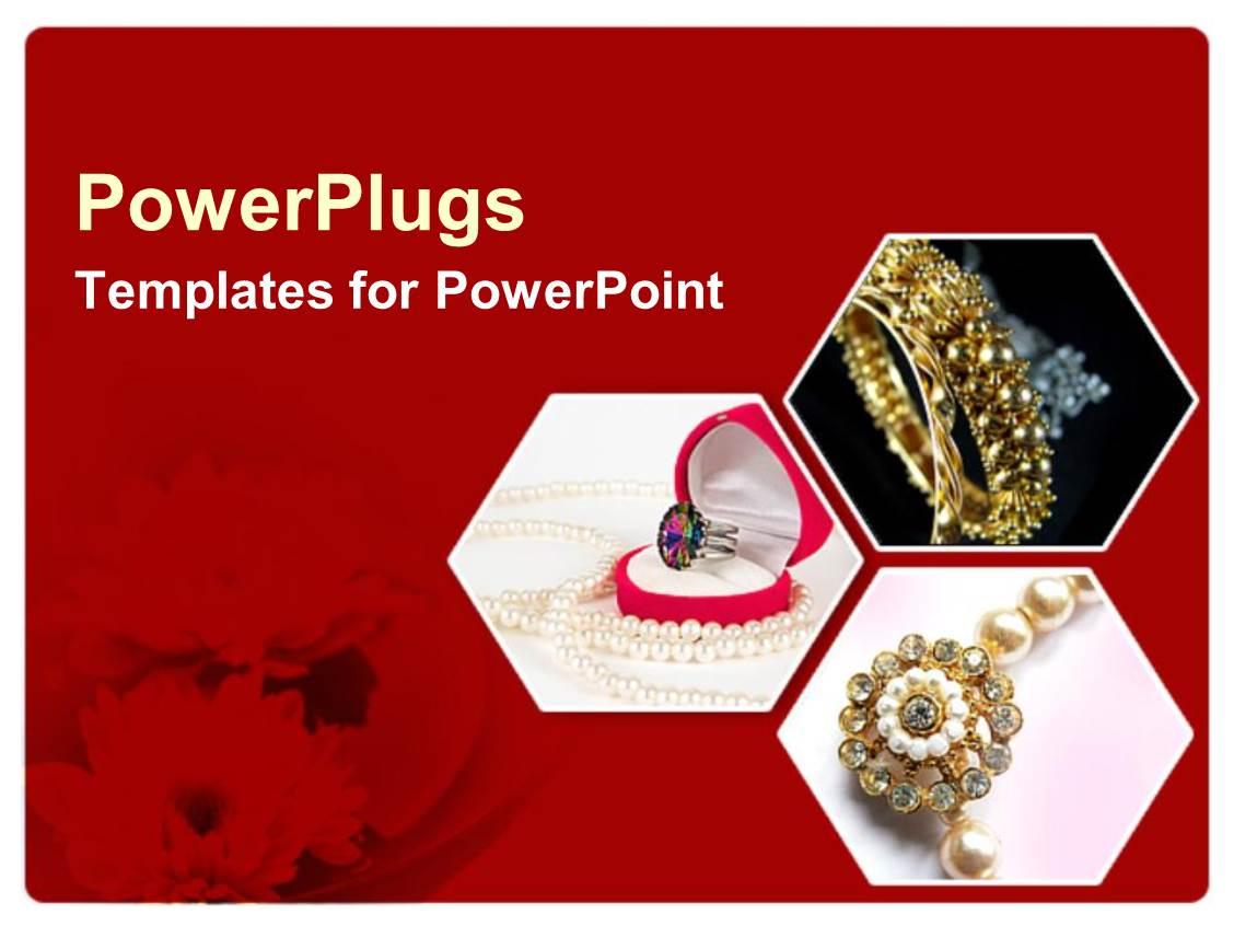 Jewelry Powerpoint Background Style Guru Fashion Glitz Glamour Style Unplugged