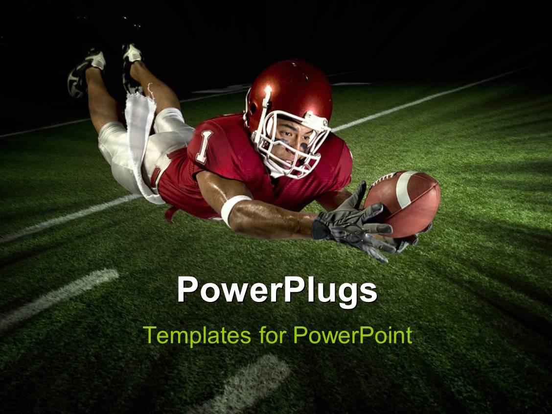 Best Football PowerPoint Templates   CrystalGraphics