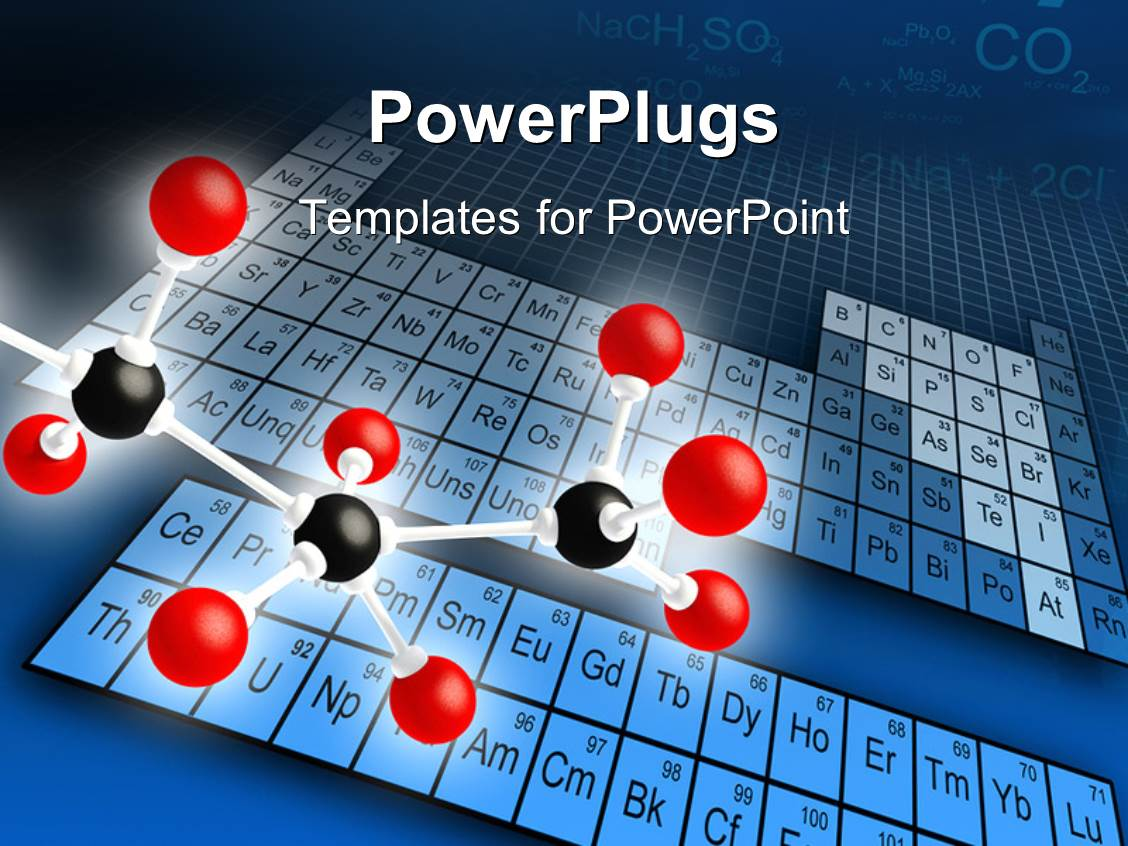 Periodic table powerpoint templates crystalgraphics powerplugs powerpoint template with science concepts of molecular structure with element periodic table template size gamestrikefo Images