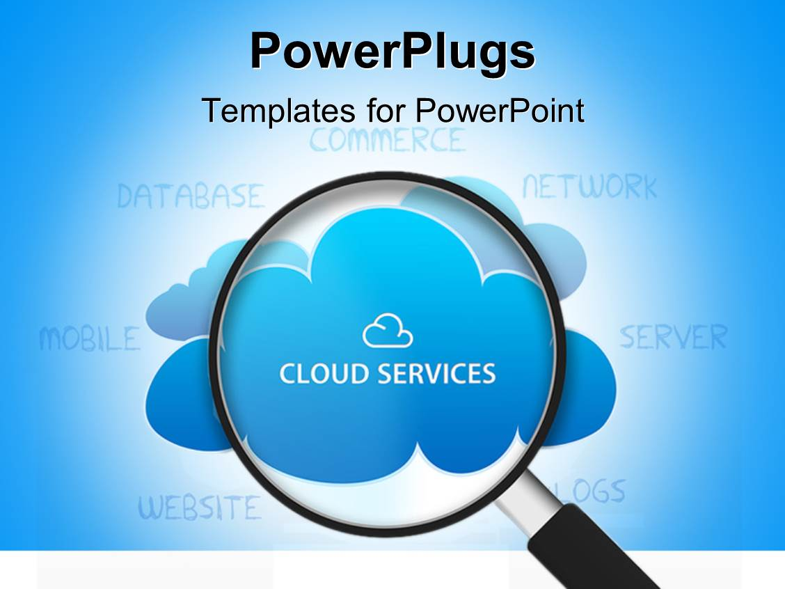 cloud powerpoint templates | crystalgraphics, Modern powerpoint